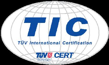 Logo vom TÜV International